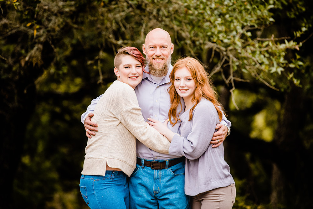 dad and teo daughters in san antonio texas