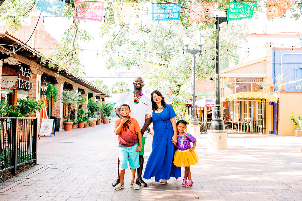 family in san antonio texas
