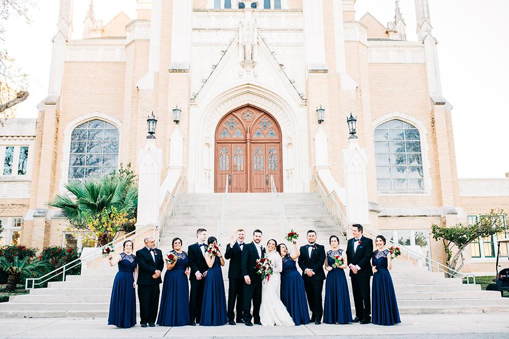 wedding party in san antonio texas